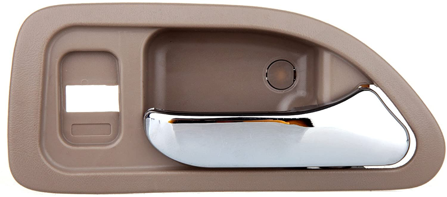 ECCPP Door Handle for 1994-1997 for Honda Accord Chrome Beige Interior Rear Right Side