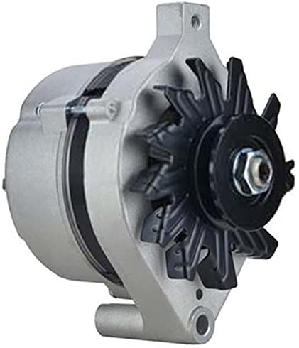 Rareelectrical NEW 65 AMP ALTERNATOR COMPATIBLE WITH FORD FAIRLANE 4.7L 4.8L 5.0L D3OF10300CA D0ZF-10300-B