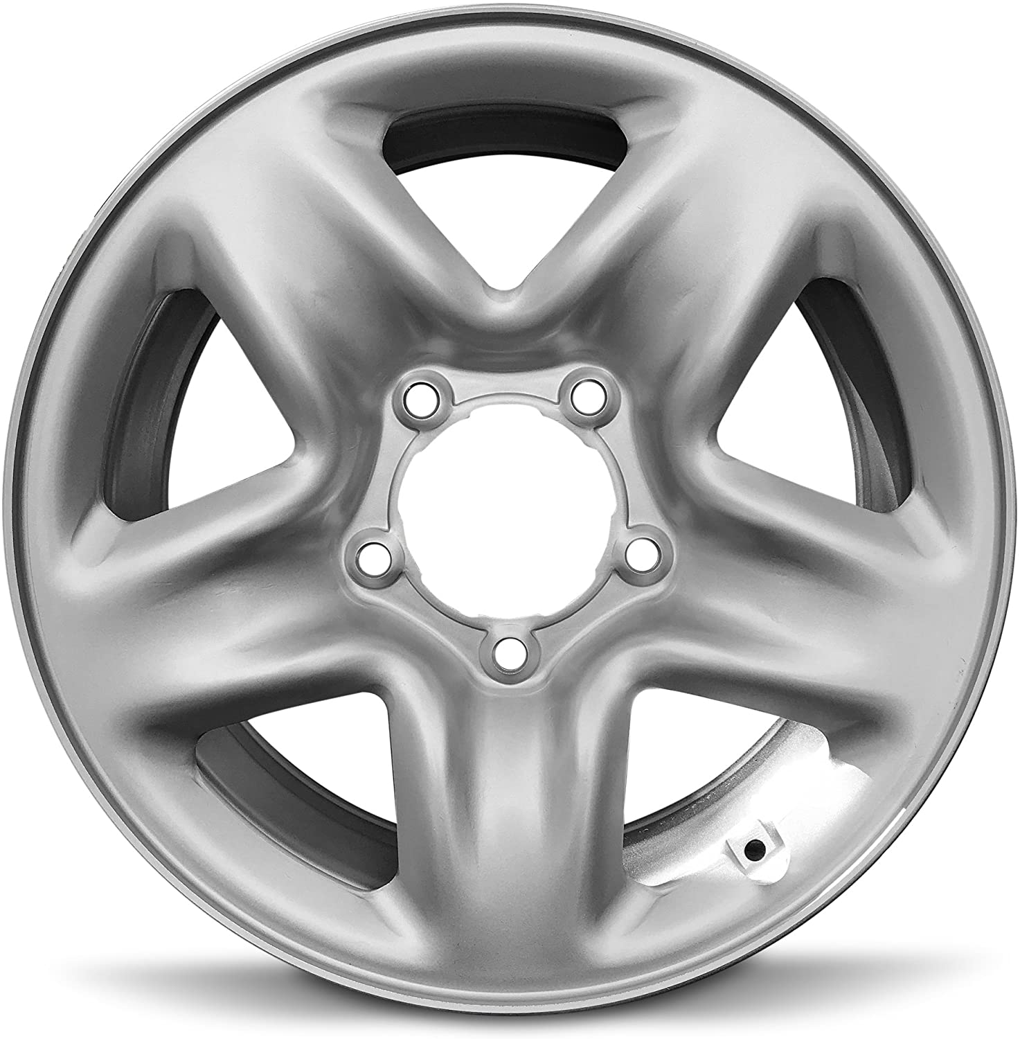 Road Ready Car Wheel For 2007-2020 Toyota Tundra 18 Inch 5 Lug Silver Steel Rim Fits R18 Tire - Exact OEM Replacement - Full-Size Spare