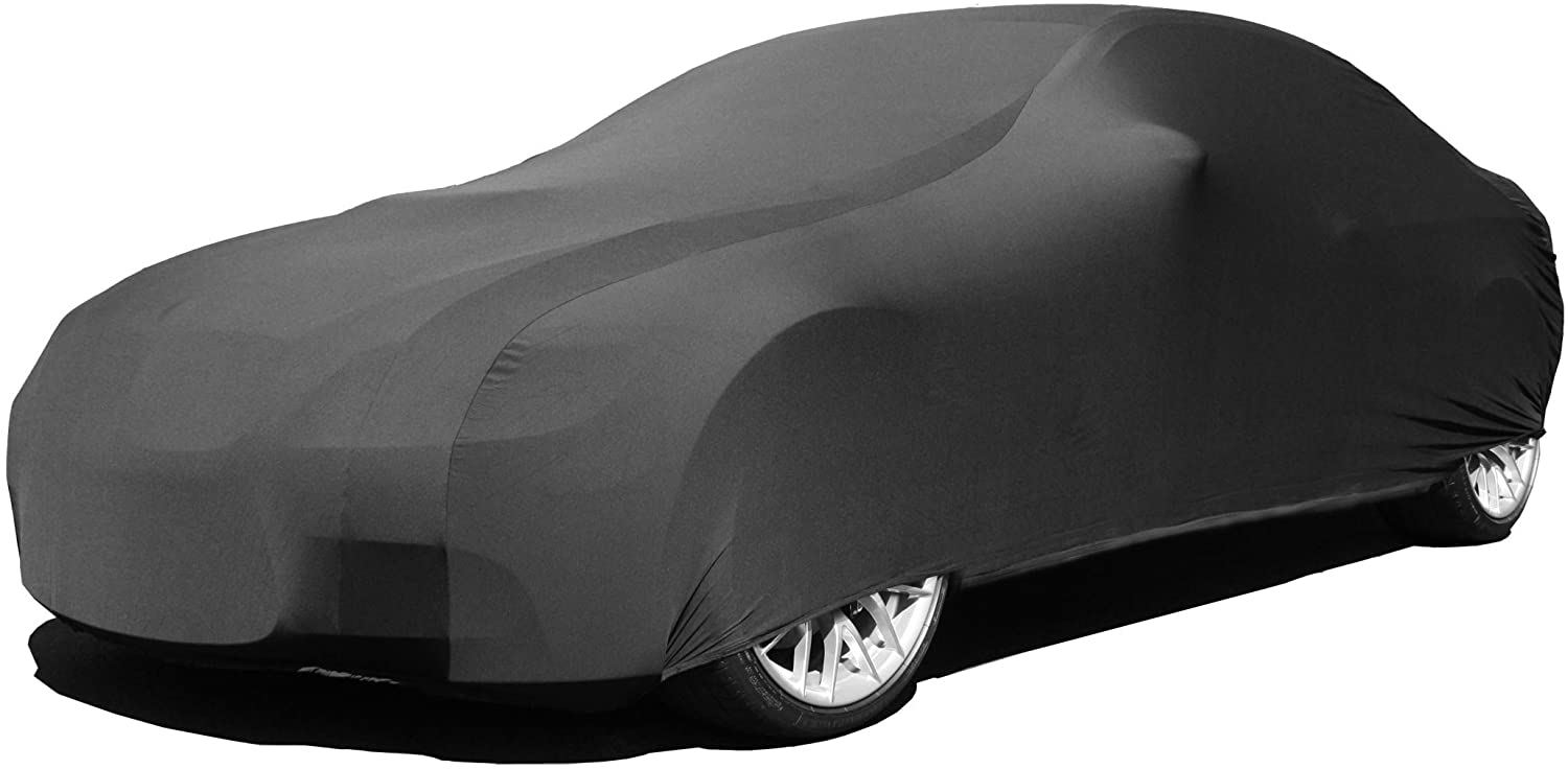 Indoor Car Cover Compatible with Dodge Viper 1992-2010 - Black Satin - Ultra Soft Indoor Material - Guaranteed Keep Vehicle Looking Between Use - Includes Storage Bag