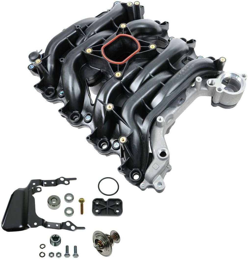 Intake Manifold w/ Thermostat & Gaskets Kit NEW for Ford Lincoln Mercury 4.6L V8