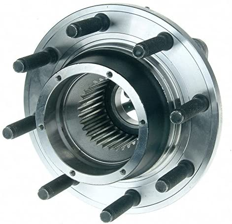 2005 fits Ford F-250 Super Duty Front Wheel Bearing and Hub Assembly (Note: Single Rear Wheels 4WD) - Two Bearings (Left and Right) Included with Two Years Warranty