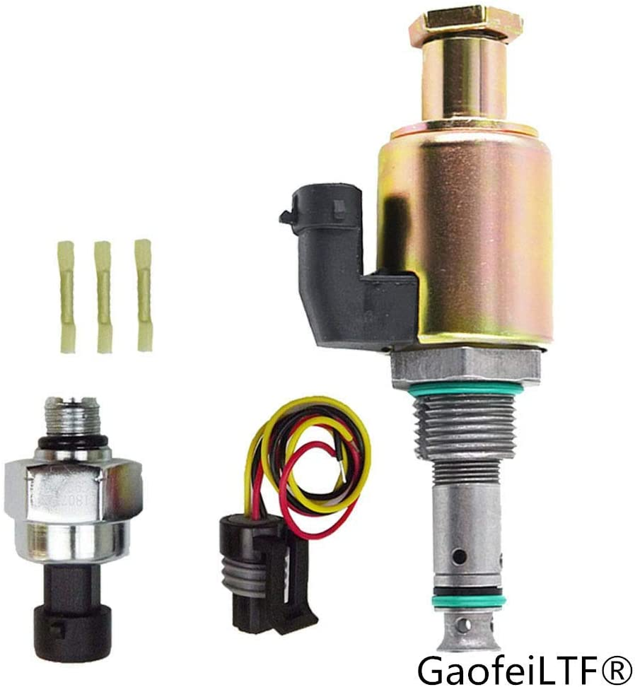 GaofeiLTF 7.3 IPR & ICP Fuel Injection Pressure Regulator Valve & Sensor for 1997-2003 Ford 7.3L Powerstroke Diesel Excursion Super Duty F250 F350 F450 E350 E450