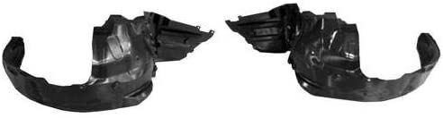 Go-Parts - PAIR/SET - for 2013 - 2015 Subaru Xv Crosstrek Front Fender Liner (Splash Shield) - Left & Right (Driver & Passenger) SU1249124 SU1248124 59110FJ000 59110FJ010