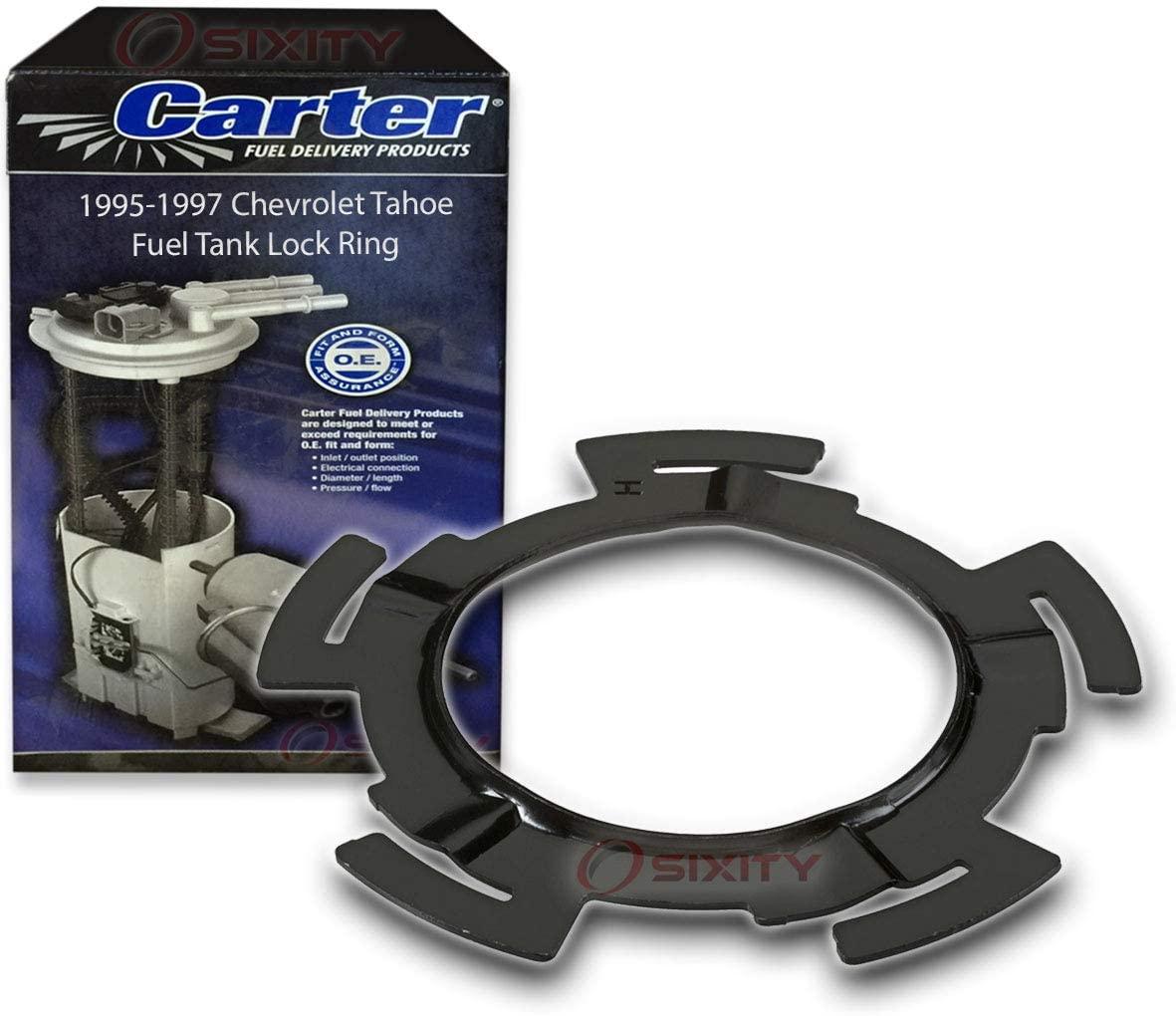 Carter Fuel Tank Lock Ring for 1995-1997 Chevrolet Tahoe 5.7L V8 - Pump Gas Diesel Gasoline Petrol