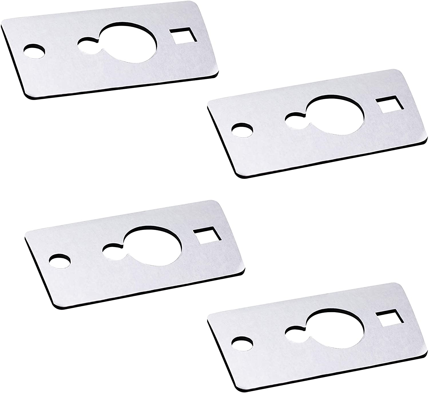 MOFORKIT Corner Roof Cab Marker Clearance Light Seal Gaskets Compatible with Hummer H2 2003 to 2009