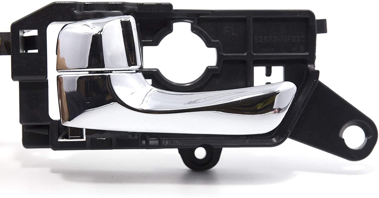 Otois Front Driver Side Chrome Interior Door Handle 826103K530CR for Hyundai Sonata 2008 2009 2010