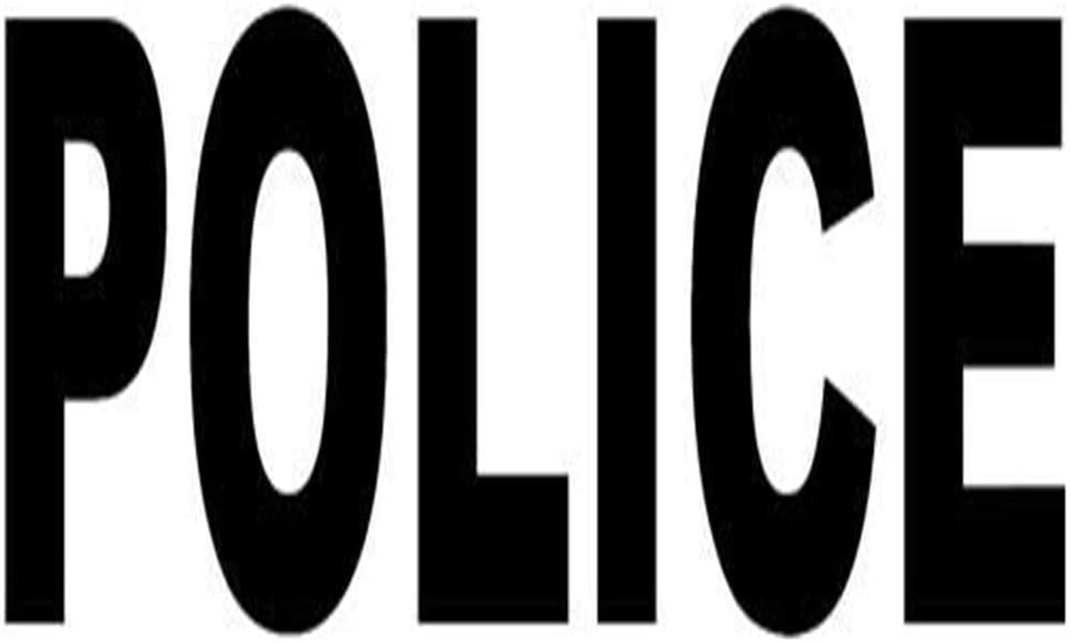Police Printed Decal Sticker - 5