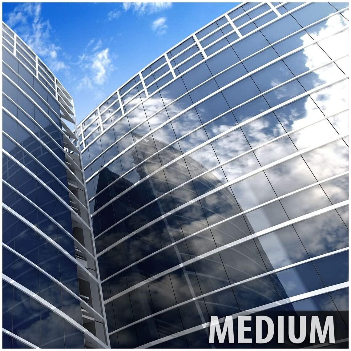 BDF S35 Window Film High Heat Rejection Reflective Silver 35 (Medium) - 48in X 24ft