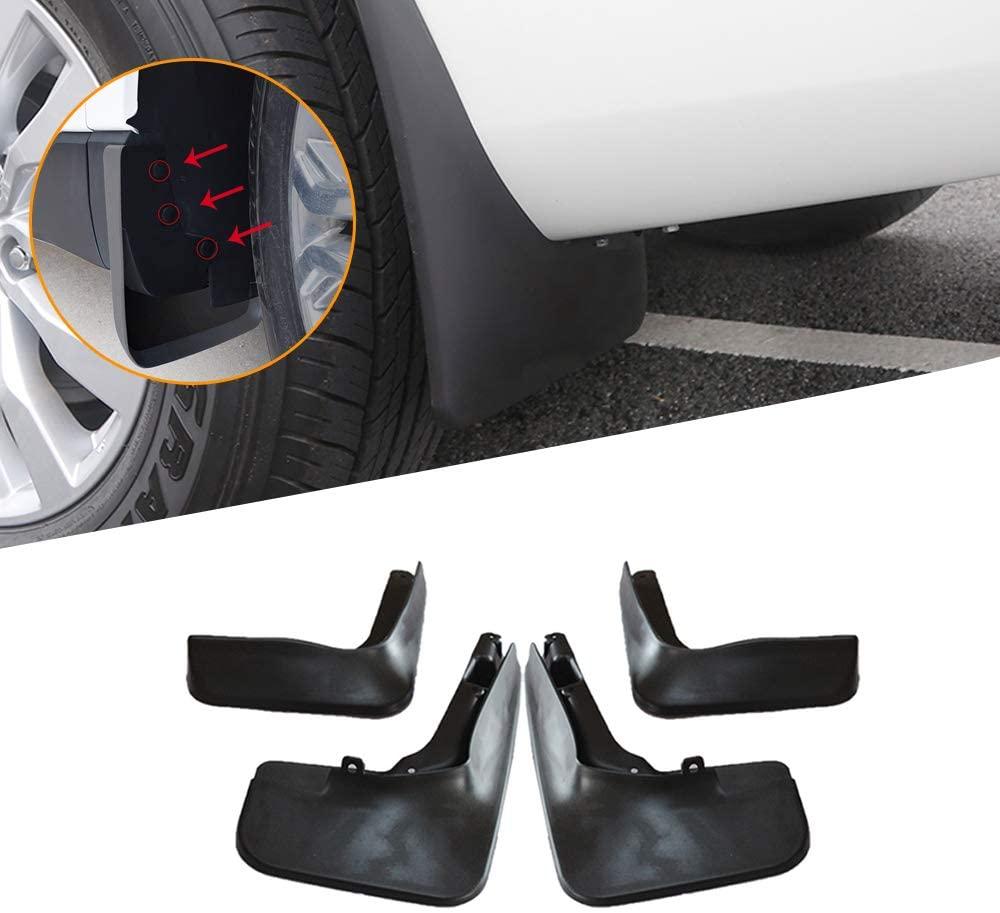 Jiahe Car Mudguards for Ford Fusion/Mondeo Molded 2013-2018 Auto Premium Fender Mudflaps Splash Guards Kit Front & Rear 4 Piece Set