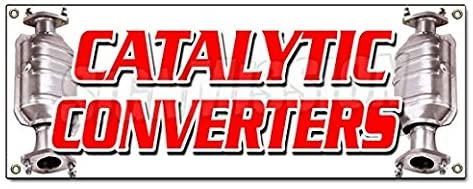 Catalytic CONVERTERS Sticker Sign Inspection Asci Auto Cars Repair A/c Sticker Sign - Sticker Graphic Sign - Will Stick to Any Smooth Surface