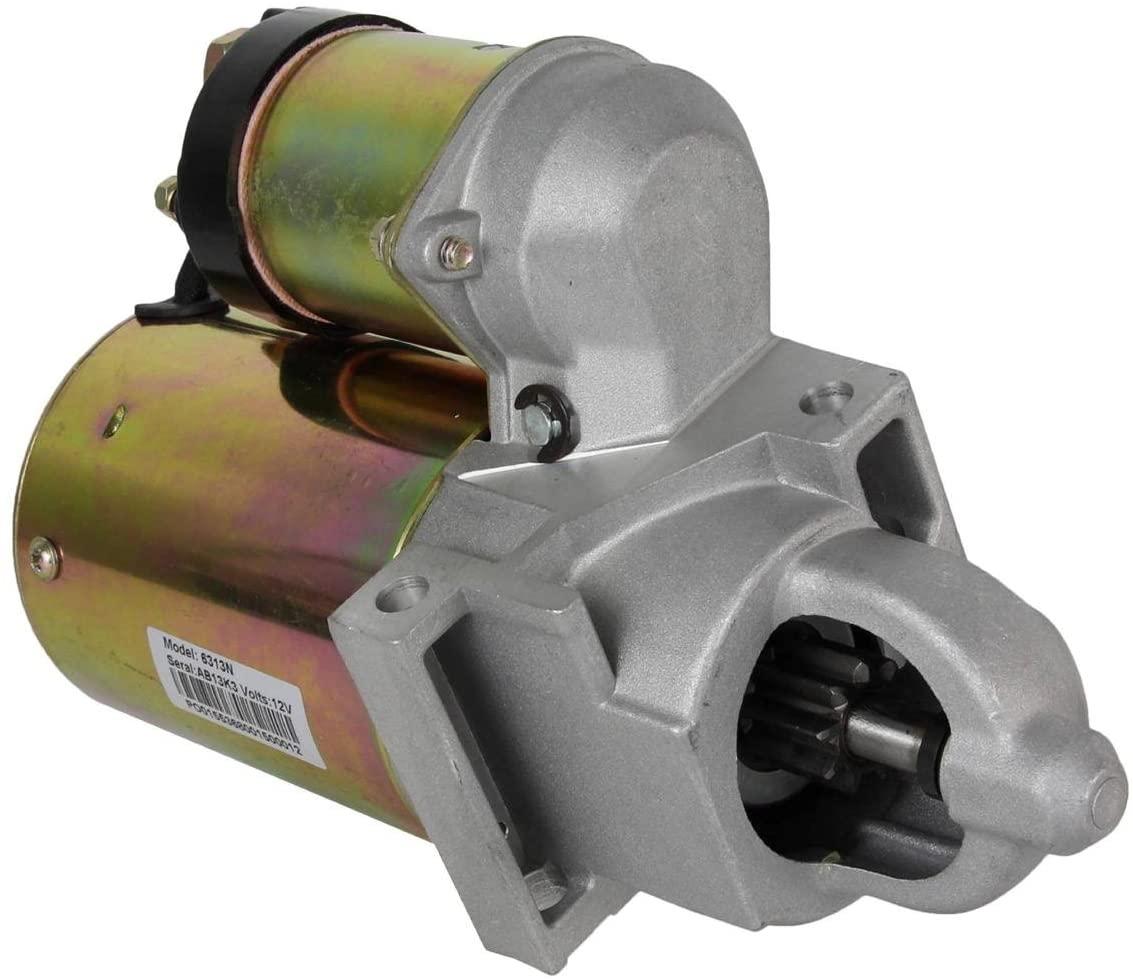 Rareelectrical STARTER MOTOR COMPATIBLE WITH 88 89 GMC C K R V SERIES PICKUP 4.3 V6 19133953 323-426