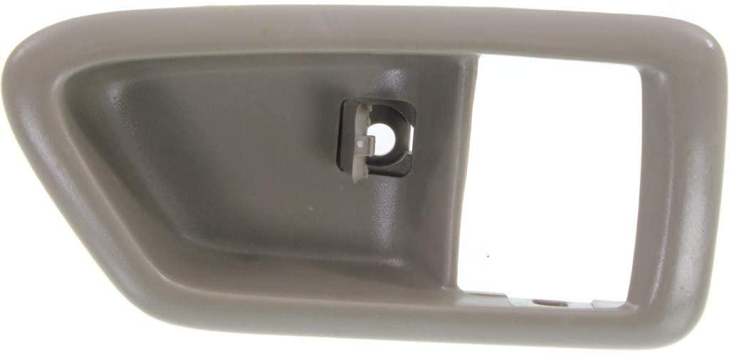 For Toyota Solara Door Handle Trim 1999 00 01 02 2003 Passenger Side | Front | Inside | Beige | Bezel Only | 6927733020