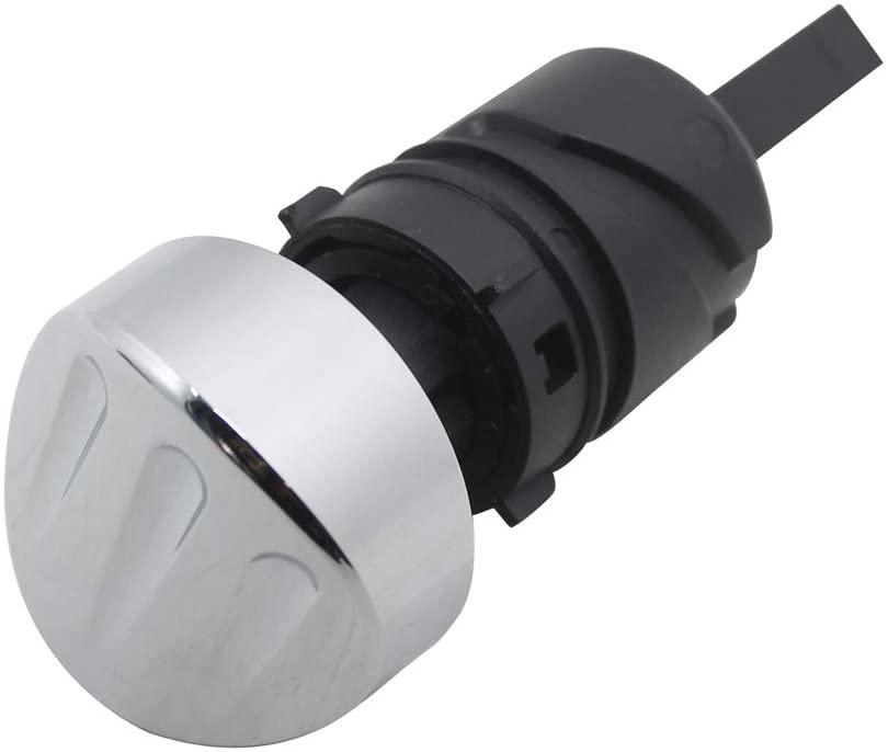 YHMTIVTU Motorcycle Oil Dipstick Filler Plug Fit for Sportster 48 XL 883 1200 2004-2020 Chrome