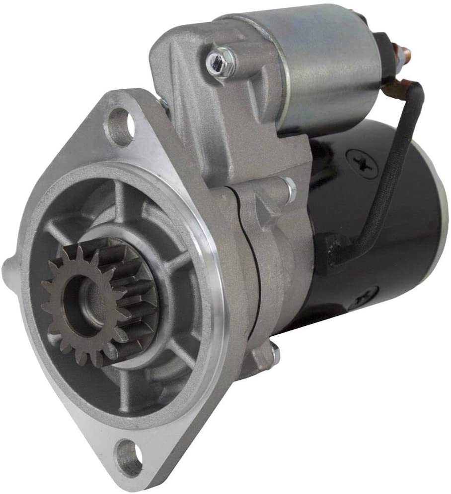 Rareelectrical NEW 12V 15T STARTER MOTOR COMPATIBLE WITH YANMAR ENGINE YH2-DTBE YH2-HTE YH2-TE S114-257