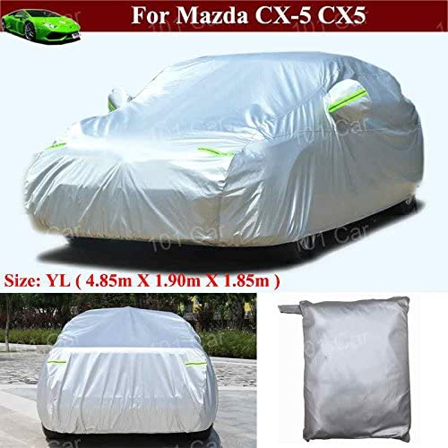 Kaitian Full Car Cover Indoor/Outdoor Full Car Cover Full Coverage Cover for Mazda CX-5 CX5 2017 2018 2019 2020 2021 2022