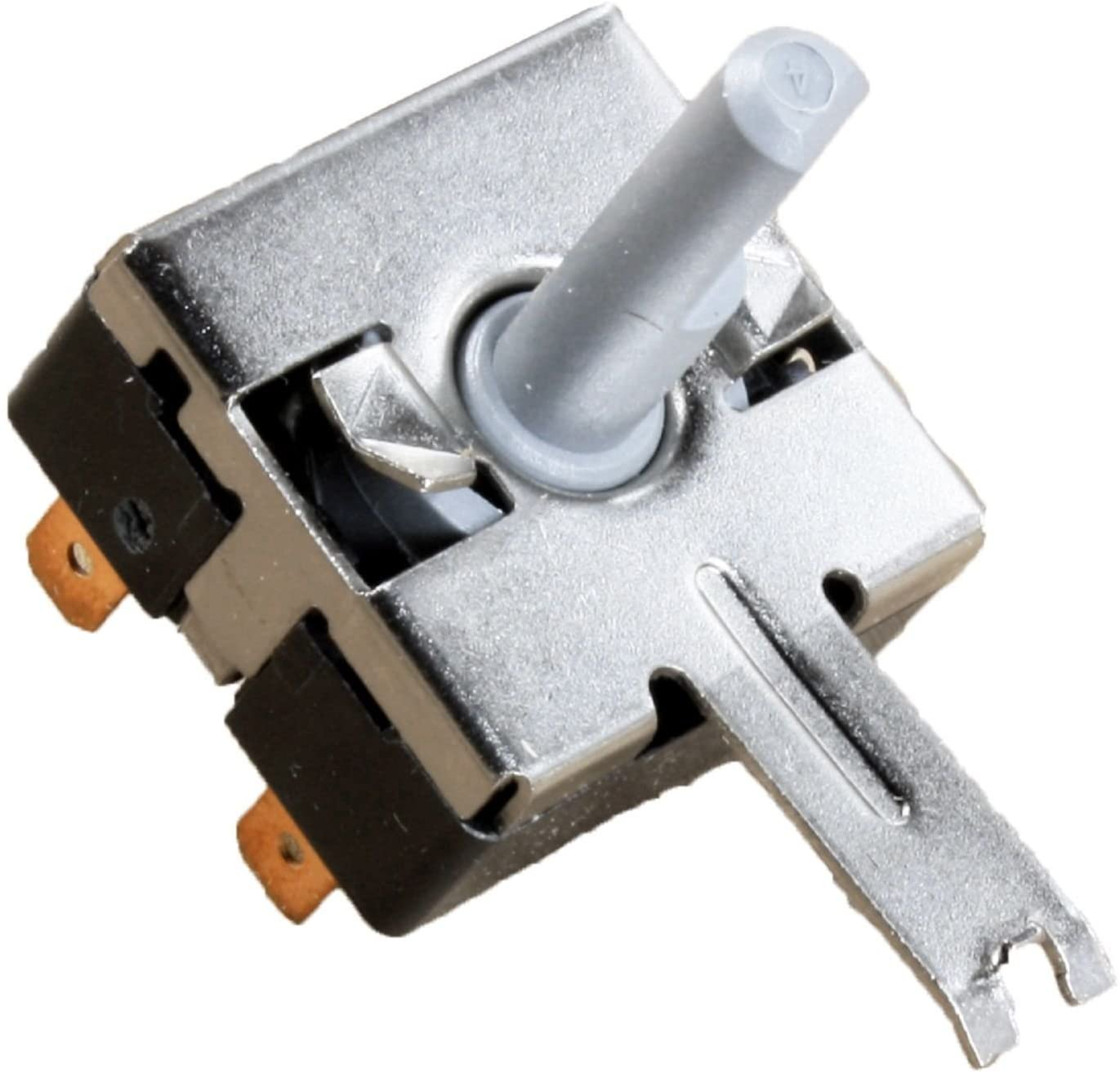 Compatible Rotary Start Switch for Hotpoint HTDP120GD0WW, General Electric DHDSR46GG2WW, General Electric DWSR483EG2WW, General Electric DWXR483EB3WW Dryer