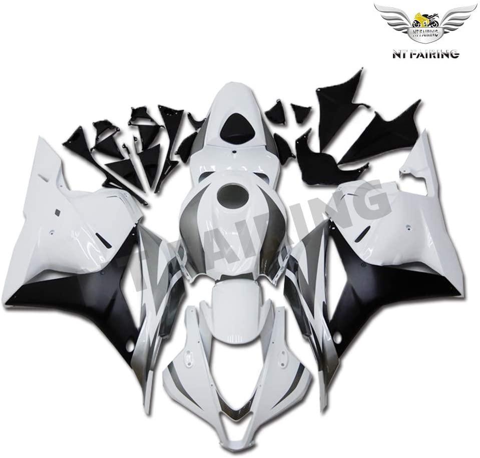NT FAIRING Grey White Fairing Fit for HONDA 2009-2012 CBR600RR CBR 600RR New Injection Mold ABS Plastics Bodywork Body Kit Bodyframe Body Work 2010 2011 09 10 11 12