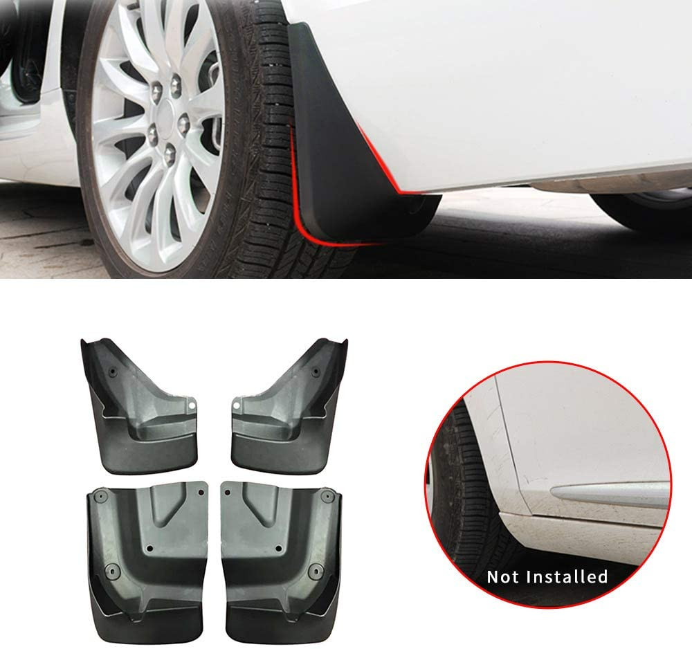 Maite For TOYOTA Haice 2016-2019 Car Front and Rear Mud Flaps Splash Guards Fender Mudguard 4Pcs