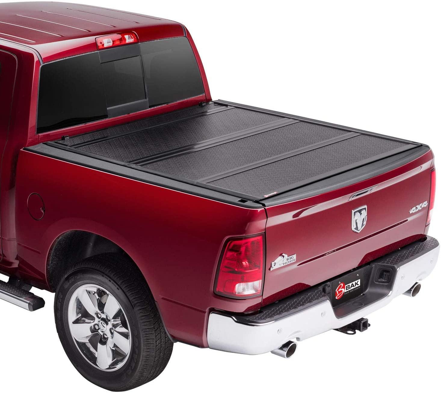 BAK BAKFlip F1 Hard Folding Truck Bed Tonneau Cover | 772204 | Fits 2002-20 Dodge Ram 8' Bed