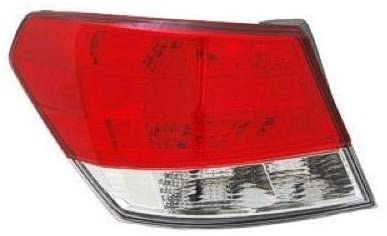 Go-Parts - for 2010 - 2014 Subaru Legacy Rear Tail Light Lamp Assembly / Lens / Cover - Left (Driver) Side Outer 84912AJ01A SU2804104 Replacement 2011 2012 2013