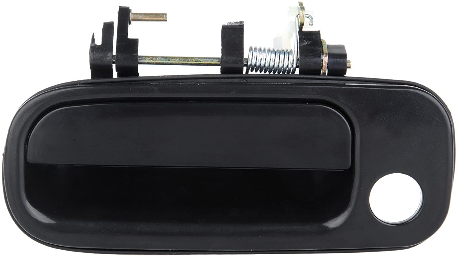 ECCPP Door Handle Exterior Outside Outer Front Driver Side Replacement for 1992 1993 1994 1995 1996 for Toyota Camry (Black)