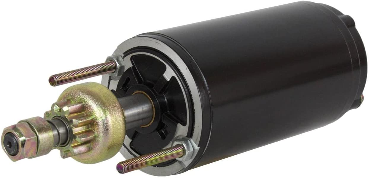 Rareelectrical NEW FORCE MARINE STARTER COMPATIBLE WITH 1201 1208 120LD9 1251 1253 50-819085-1 50-819085-T1