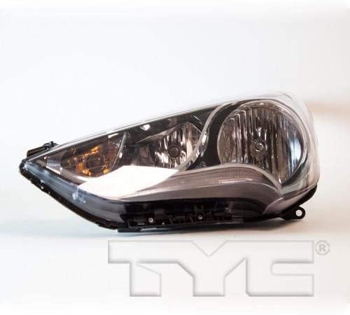 Go-Parts - for 2012 - 2017 Hyundai Veloster Front Headlight Assembly Housing / Lens / Cover - Left (Driver) 92101-2V000 HY2502168 Replacement 2013 2014 2015 2016