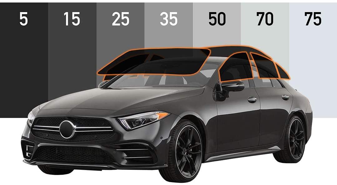 Motoshield Pro - Premium Precut Ceramic Window Tint for 4-Door Sedan [99% Infrared Heat Reduction/Blocks 99% UV] 2mil - All Windows