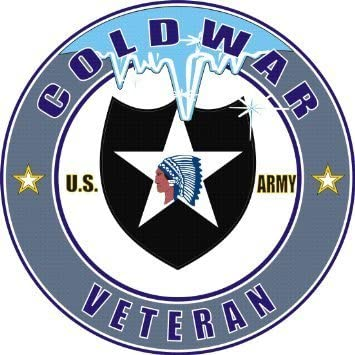 United States Army 2nd Infantry Division Cold War Veteran Decal Sticker - 5'' Sticker Graphic - Sticks to any smooth surface