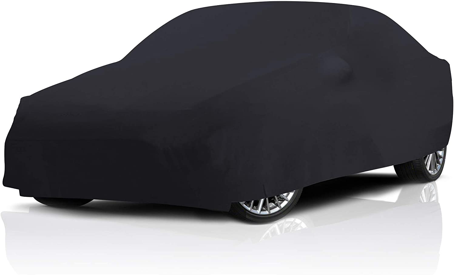 Stretch Indoor Black Satin Full Car Cover for Chevrolet Monte Carlo 2001-2007