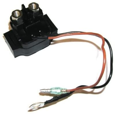 Rareelectrical NEW STARTER RELAY COMPATIBLE WITH YAMAHA 2004-2012 2 STROKE HPDI 300CC 2002-2009 SUPER JET 700CC 68V-8194A-00 68N-81940-00-00 68N-81940-00