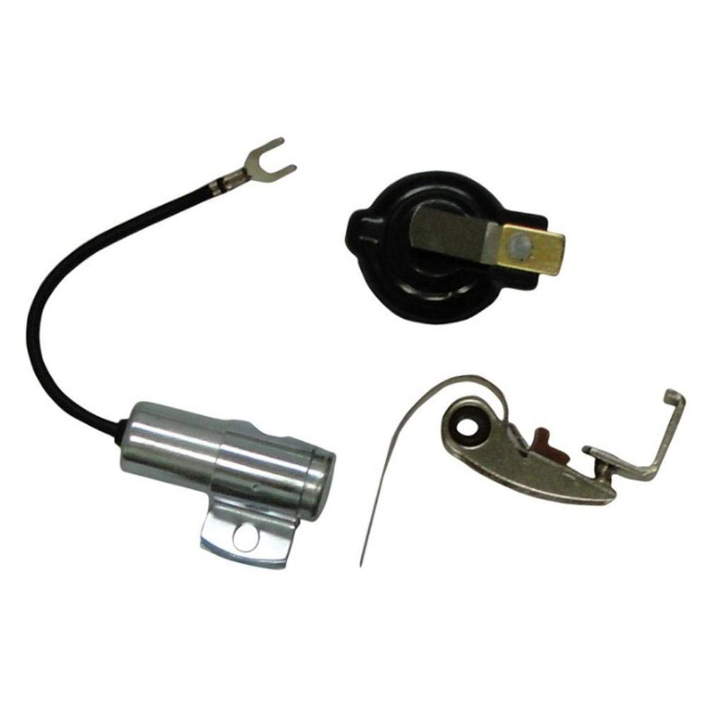 407018R91 New Ignition Kit w/Point Condenser & Rotor Fits Case-IH Tractor.