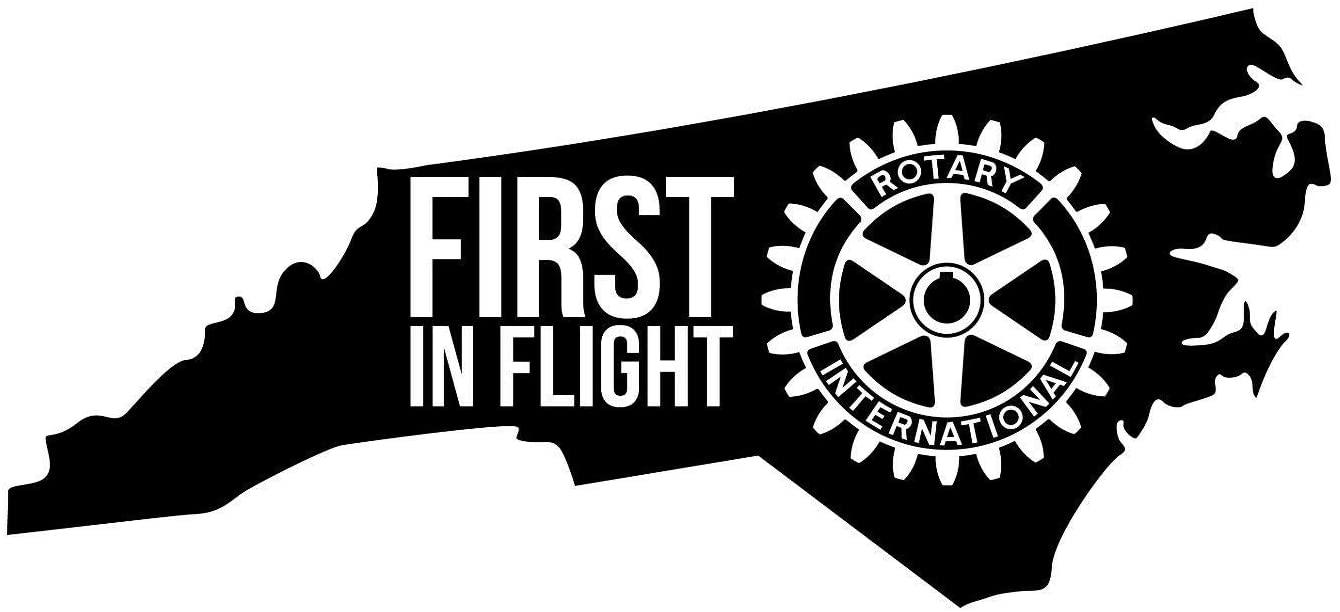 JB Print First in Flight North Carolina Vinyl Decal Sticker Car Waterproof Car Decal Bumper Sticker 5