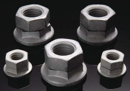M10-1.50 Class 10 Zinc Plated Finish Carbon Steel Wedge Lock Nut, 50 pk.