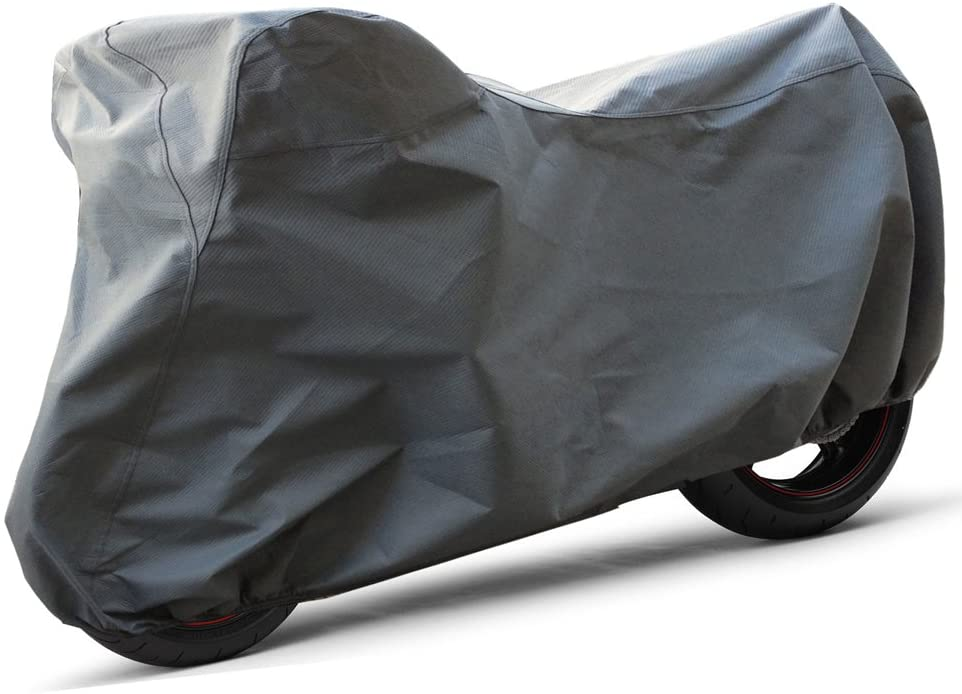 OxGord Superior Motorcycle Cover - Basic Outdoor 4 Layers - Ready-Fit/Semi Custom - Fits up to 80