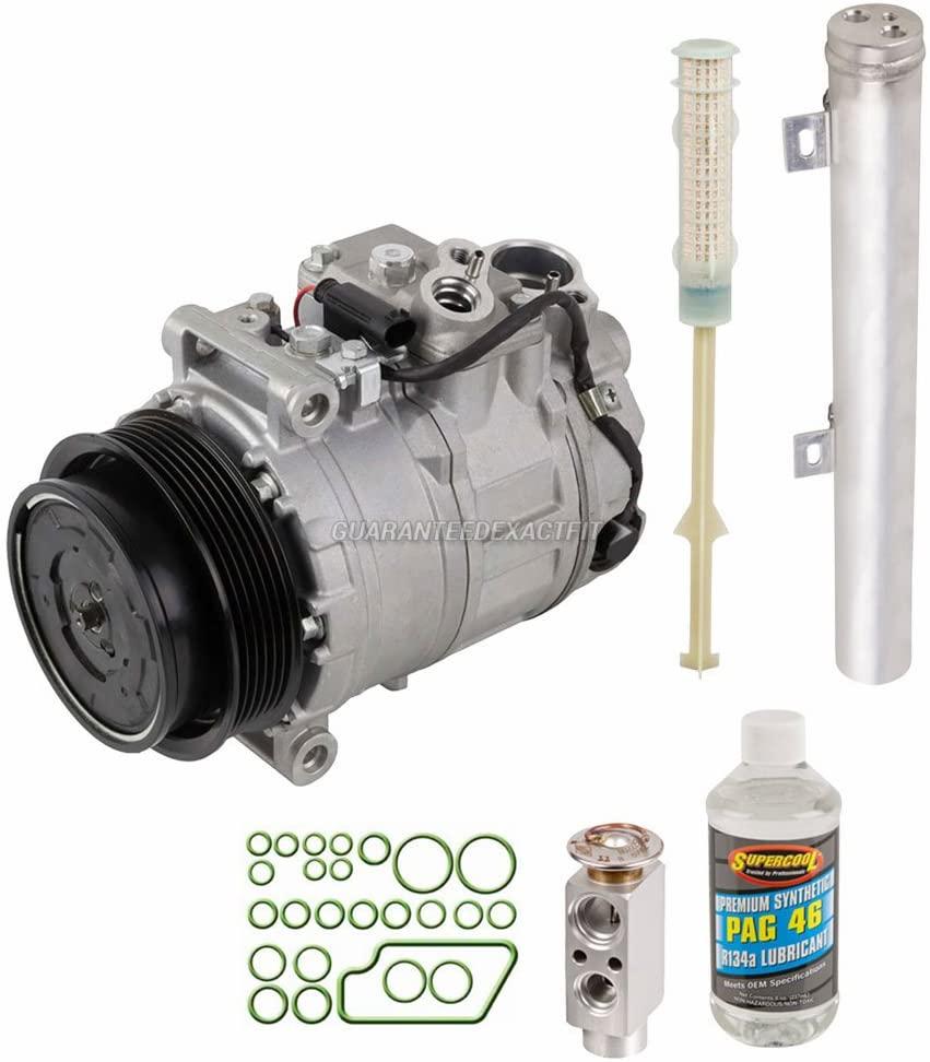 For Mercedez C320 2004 2005 AC Compressor w/A/C Repair Kit - BuyAutoParts 60-80186RK New