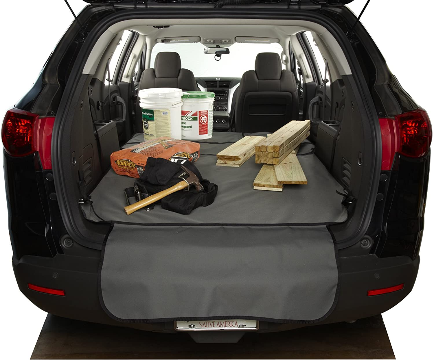Covercraft Custom Fit Cargo Liner for Select Nissan Versa Models - Polycotton (Grey)