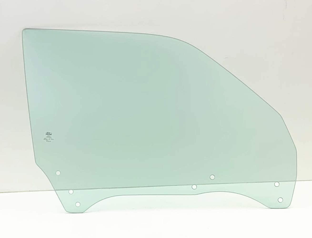 NAGD Passenger Right Side Front Door Window Door Glass Compatible with Subaru Forester 1998-2002 Models