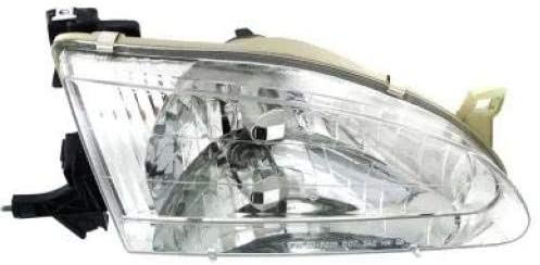Go-Parts - for 1998 - 2000 Toyota Corolla Front Headlight Assembly Housing / Lens / Cover - Right (Passenger) 81110-02060 TO2503121 Replacement 1999