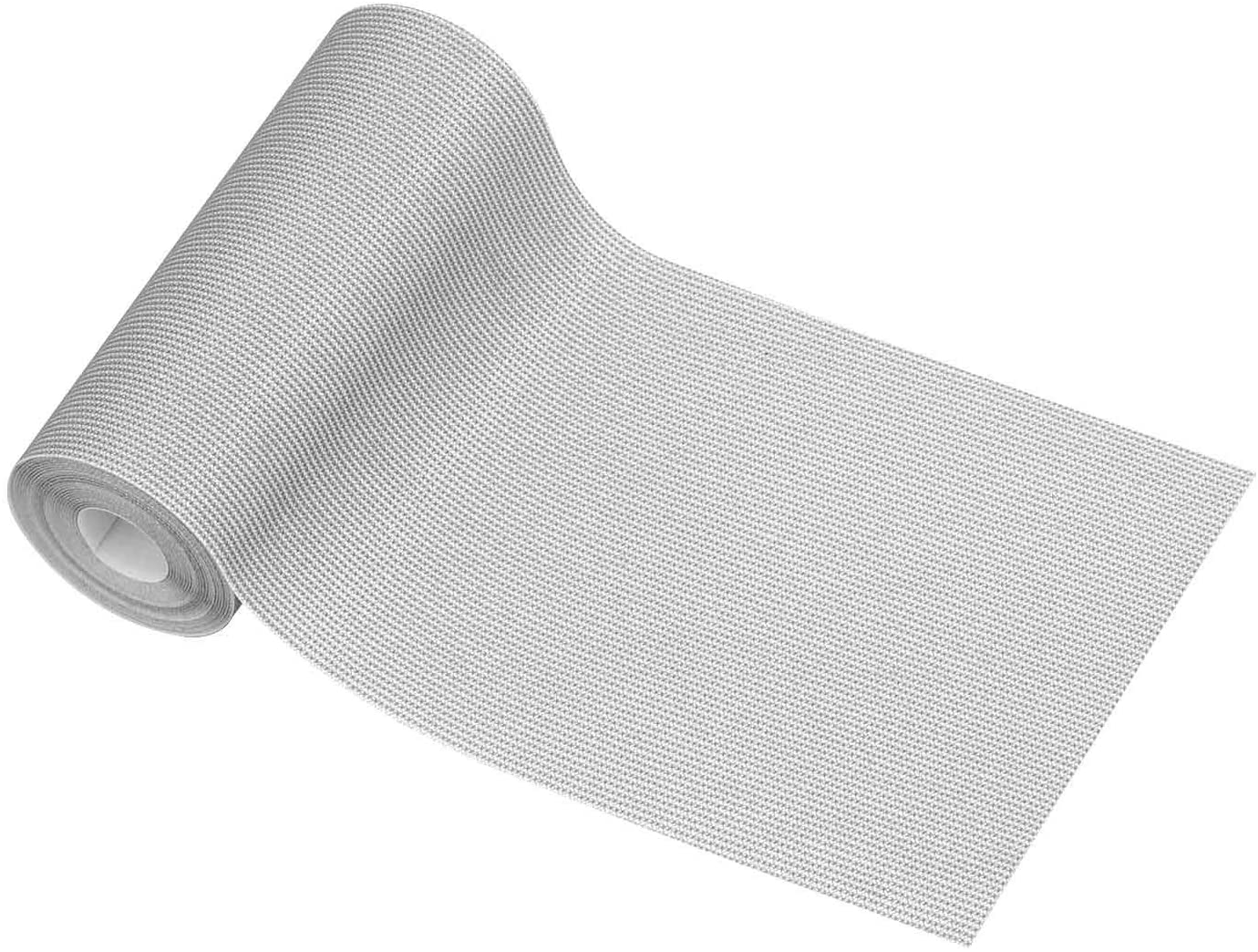 """Nylon Fabric Repair Tape 2.4""""X60"""", Invisible Waterproof Tenacious Adherence Tape Iron-on Patch for Jeans Pizex Tent (Light Gray)"""