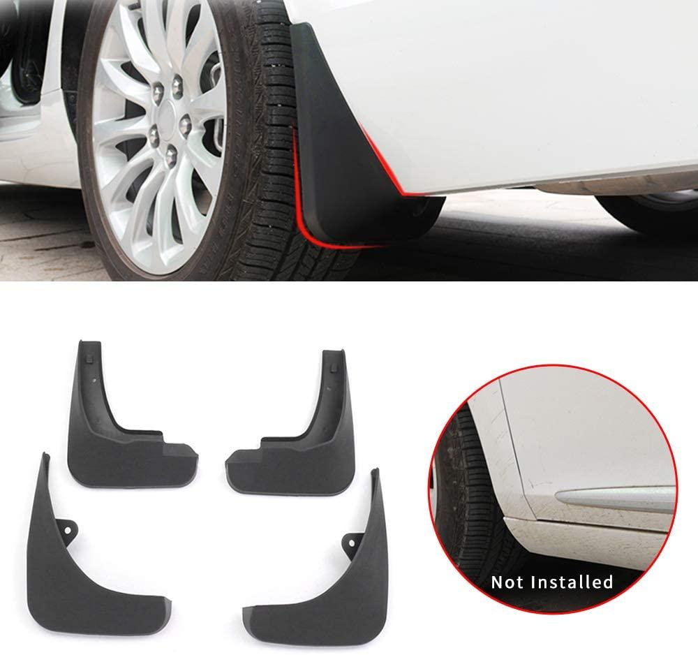 Maite For Audi A3 Hatchback 2010-2015 Car Front and Rear Mud Flaps Splash Guards Fender Mudguard 4Pcs