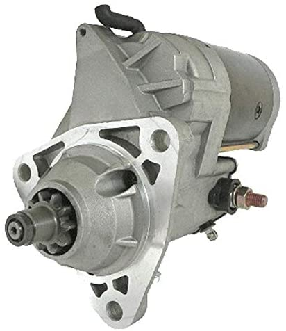 Rareelectrical NEW 12V 10T STARTER MOTOR COMPATIBLE WITH 90-07 FREIGHTLINER FLD 112 120 M2 CUMMINS 10461063 AC 323-874 10461063