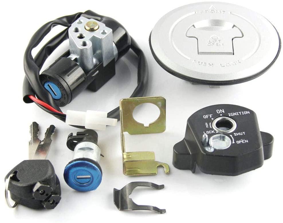 Motorcycle Ignition Switch Lock Key Fuel Gas Cap Key Set for Honda CBR150R CBR125RT CBR125RS CBR125RF CBR125R JC50