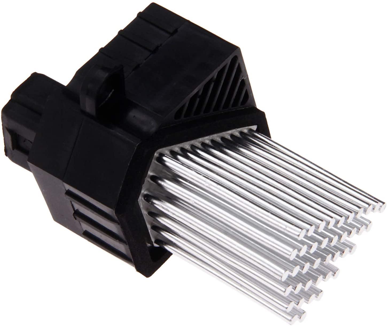 gohantee Heater Blower Motor Resistor 64116923204 Fits for BMW E46 E39 X5 X3 323Ci 323i 325Ci 325i 530i 1997-2006 Replace# 64116929540 64116929486 Final Stage Resistor