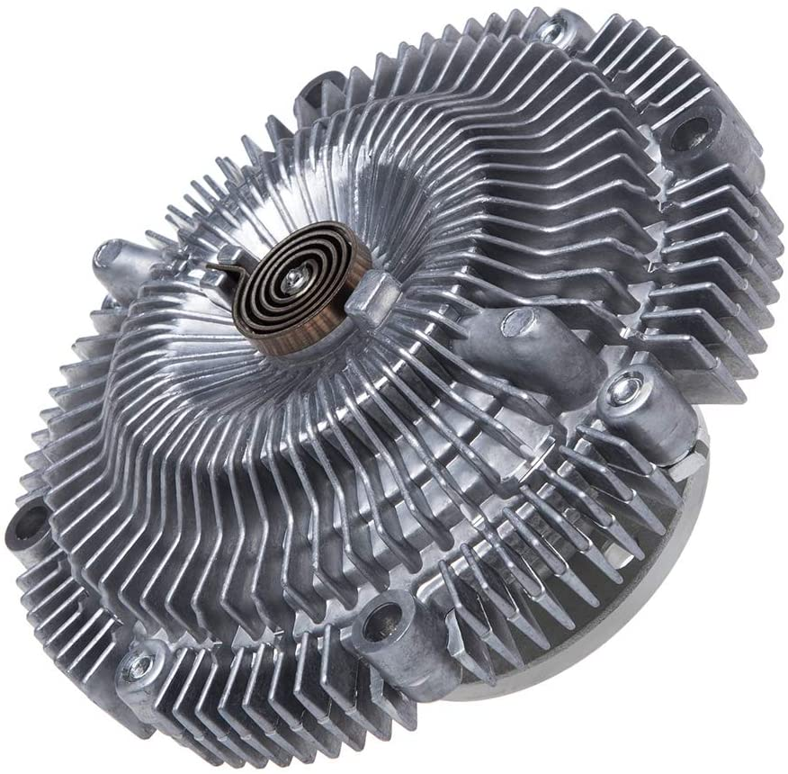 IRONTREE 2664 Engine Cooling Fan Clutch Compatible with Nissan Frontier Pathfinder 300ZX Xterra D21 Pickup Infiniti QX4 Q45 Series,3.0L 3.3L 4.5L, OE Replacement
