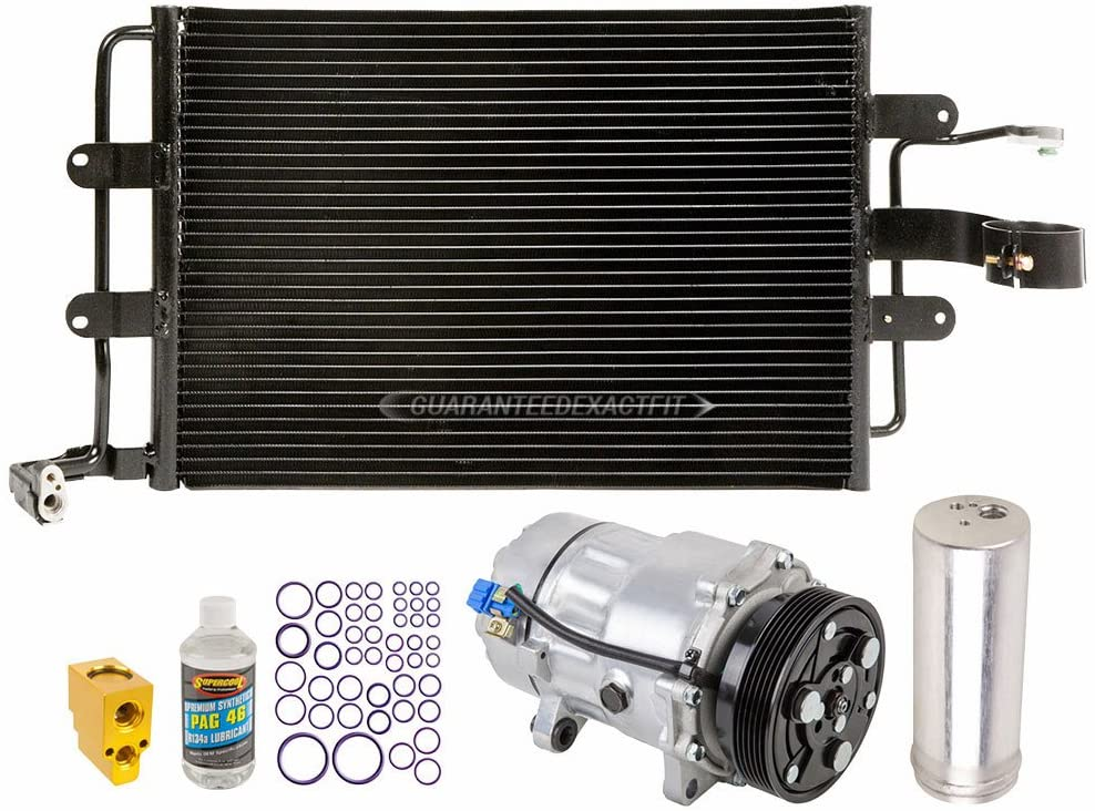 For Volkswagen Beetle 1998-2006 A/C Kit w/AC Compressor Condenser & Drier - BuyAutoParts 60-82405CK New