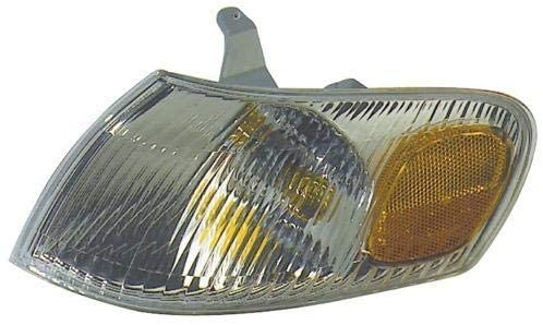 Go-Parts - for 1998 - 2000 Toyota Corolla Parking Light Assembly / Lens Cover - Left (Driver) Side 81520-02040 TO2520150 Replacement 1999