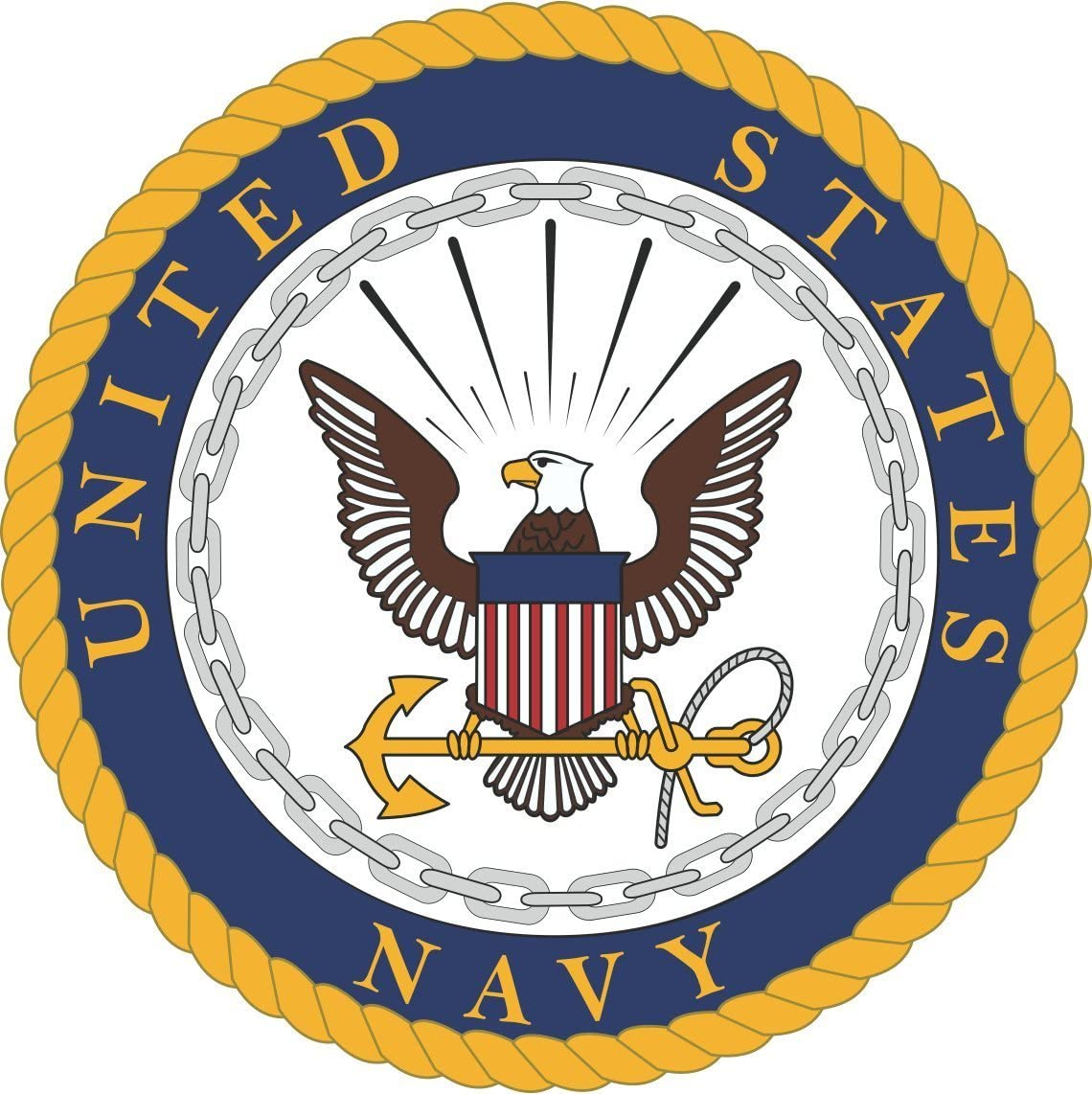 MAGNET US Navy Department Seal Decal Magnetic Sticker 5.5