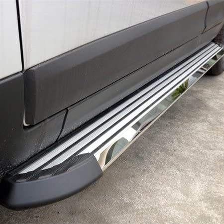 HEKA Side Step fit for VW Volkswagen Atlas 2017 2018 2019 2020 2021 Running Board Nerf Bar Aluminum